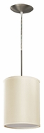 AFX HTP118SNSCT-CR 8 Inch Diameter Cream Colored Mini Lighting Pendant