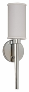 AFX HUS118PCEC-LA Polished Chrome Transitional Style Wall Lighting Sconce