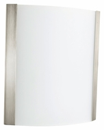 AFX IDS118SNSCT Satin Nickel 10 Inch Tall Wall Lighting Sconce - Transitional