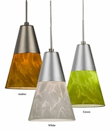 AFX LAPL45027 Contemporary 4.5 Inch Diameter Cone LED Mini Pendant