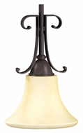 AFX SWP113SCT 7 Inch Diameter Mini Oil Rubbed Bronze Drop Lighting Fixture