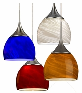 AFX SXPL45027 Transitional 5 Inch Diameter Mini Pendant With Glass Options