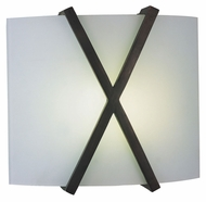 AFX RES226RBMV Transitional 11 Inch Tall Oil Rubbed Bronze Wall Light