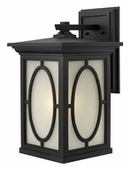 Hinkley 1495BK Randolph Large Black Finish 19 Inch Tall Exterior Sconce - Traditional