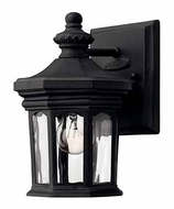 Hinkley 1606MB Raley Small 8 Inch Tall Traditional Black Outdoor Sconce With LED Option