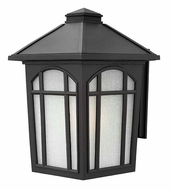 Hinkley 1985BK Cedar Hill Extra Large 16 Inch Tall Black Outdoor Wall Sconce Lighting