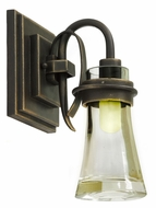 Kalco 2911 Dover 10 Inch Tall Xenon Transitional Wall Lighitng
