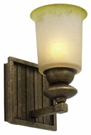 Kalco 6681 Beverly 9 Inch Tall Old World Wall Sconce With Glass Options