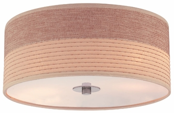 Lite Source LS5750 Relaxar 2-light Modern Flush Lighting