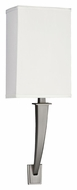 AFX SHS113SNMV-LA 18 Inch Tall Transitional Satin Nickel Wall Light Sconce