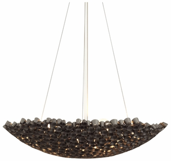 LBL Miss Charlie Black Metal Modern Hanging Light Fixture
