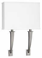 AFX SHS213SNMV-LA Satin Nickel 2 Lamp Transitional Sconce Lighting