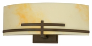 AFX CRS213RBMVT 13 Inch Wide Oil Rubbed Bronze Transitional Wall Light Sconce
