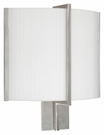 AFX MIDS213SNMV 15 Inch Tall Wall Mount Satin Nickel Transitional Sconce Lighting