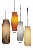 AFX NIP118SNSCT Satin Nickel 6 Inch Diameter Mini Pendant Hanging Lamp