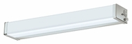 AFX Chrome Finish Transitional 2 Inch Tall Overhead Flush Mount Lighting