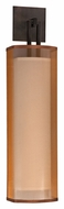 AFX CZS118PKBMV-BZWH Bronze Organza Shade 25 Inch Long Wall Lighting Fixture