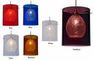 Bruck Paris 7 Inch Diameter Modern Mini Bar Light Fixture With Glass Options