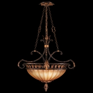 Fine Art 303840 Brighton Pavillion Bronzed Seinna Finish 3 Lamp Pendant Hanging Light