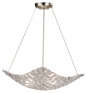 Fine Art 841040 Constructivism Small Modern 22 Inch Diameter Hanging Pendant Light