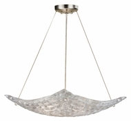 Fine Art 841240 Constructivism Medium Silver Leaf Contemporary Lighting Pendant