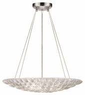 Fine Art 843040 Constructivism Medium 3 Lamp Silver Leaf Contemporary Hanging Light