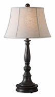 Uttermost 27685 Chesnee Solid Poplar 35 Inch Tall Transitional Table Light