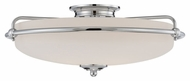 Quoizel GF1621C Griffin Large Retro Style Polished Chrome Overhead Lighting