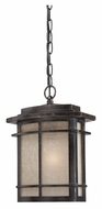 Quoizel GLN1910IB Galen 13 Inch Tall Imperial Bronze Craftsman Outdoor Hanging Light