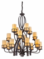 Quoizel KY5016IB Kyle Extra Large 16 Lamp Imperial Bronze Dining Room Chandelier