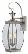 Quoizel OAS8408P Oasis Medium 2 Lamp Pewter Finish Outdoor Wall Lamp