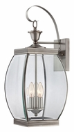 Quoizel OAS8409P Oasis Large 23 Inch Tall Outdoor Wall Light - Pewter
