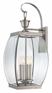 Quoizel OAS8411P Oasis Extra Large Pewter Finish 26 Inch Tall Wall Lighting