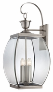 Quoizel OAS8413P Oasis XXL Pewter Finish 33 Inch Tall Wall Lighting Sconce - Transitional
