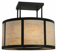 Meyda Tiffany 133435 Cilindro Vicksburg 48 Inch Diameter Transitional Semi Flush Lighitng