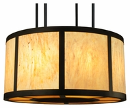Meyda Tiffany 133454 Cilindro Vicksburg Semi Flush Mount 48 Inch Diameter Overhead Lighting