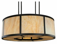 Meyda Tiffany 133457 Cilindro Vicksburg Large 72 Inch Diameter Semi Flush Ceiling Light