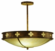 Meyda Tiffany 137526 Byzantine Small 3 Lamp 20 Inch Diameter Traditional Overhead Lighting