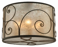 Meyda Tiffany 138539 Granada Flush Mount 30 Inch Diameter Modern Ceiling Light