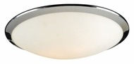 PLC 7659-PC Preston 15 Inch Diameter Contemporary Overhead Lighting - Large