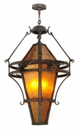 Meyda Tiffany 125210 Lone Pine 36 Inch Diameter China Mahogany Bronze Pendant Lamp