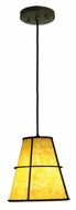 Meyda Tiffany 135678 Cilindro Palomino 8 Inch Diameter Craftsman Mini Pendant Light