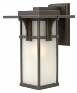 Hinkley 2234OZ Manhattan Oil Rubbed Bronze Transitional Style Outdoor Sconce - Medium