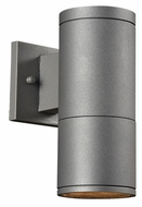 PLC 8032-BZ Troll-II Small Bronze Modern Outdoor Security Lighting - 10 Inches Tall