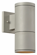 PLC 8032-AL Troll-II Small 10 Inch Tall Outdoor Security Light - Aluminum Finish