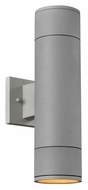 PLC 8034-AL Troll-II Large Aluminum Finish Modern Outdoor Security Lighting