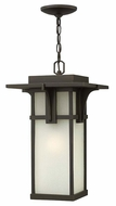 Hinkley 2232OZ Manhattan Exterior 19 Inch Tall Hanging Pendant Light - Oil Rubbed Bronze
