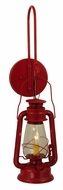 Meyda Tiffany 139699 Miners Lantern Red 26 Inch Tall Wall Light Sconce