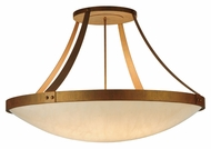 Meyda Tiffany 140875 Urban 43 Inch Diameter Transitional Cortez Gold Overhead Light