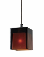Cal UP-1014/6-BS Unipack Braided Steel 4 Inch Tall Mini Pendant Light